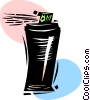 Vector Clipart picture  of a Hairspray