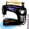 Sewing machine Vector Clip Art graphic