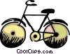 Vector Clipart graphic  of a Bicycle
