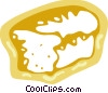 Loaf of fresh bread Vector Clip Art picture