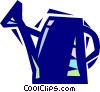 Vector Clipart image  of a Watering can