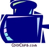 Ink bottle Vector Clipart illustration