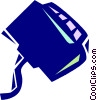 Portable cassette player Vector Clip Art picture