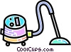 Vacuum cleaner Vector Clip Art picture