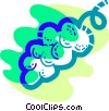 Vector Clipart illustration  of a Grapes