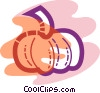 Vector Clipart graphic  of a pumpkin