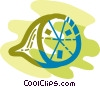 Sliced lime Vector Clipart picture