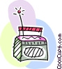 Vector Clip Art picture  of a Radios