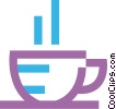 Cup of tea Vector Clip Art picture