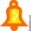 Vector Clip Art graphic  of a Colorful bell