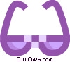 Vector Clipart picture  of a Eye glasses
