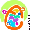 Easter Eggs Vector Clip Art image