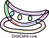 Slice of watermelon Vector Clipart picture
