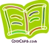 Vector Clipart graphic  of a Colorful book