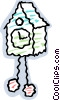 Coo-coo clock Vector Clipart picture