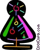 Colorful Christmas tree Vector Clip Art picture