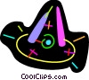 Witches hat Vector Clipart graphic