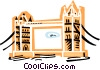 Tower bridge Vector Clip Art picture