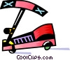 Colorful scooter Vector Clipart picture