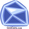 Vector Clip Art picture  of a Blue envelope