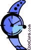 Wrist watch Vector Clipart image