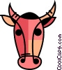 Angry Bull Vector Clip Art picture