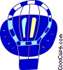 Hot air balloon Vector Clipart graphic