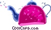 Tea kettle Vector Clip Art image