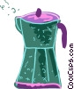 Coffee maker Vector Clipart illustration