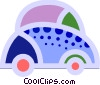 Family car Vector Clipart illustration