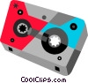 Cassette tape Vector Clipart picture