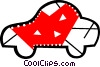 Vector Clip Art picture  of a Sports car