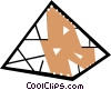 Egyptian pyramid Vector Clip Art picture