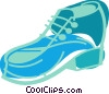 Vector Clipart illustration  of a Dress shoe