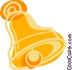 Vector Clip Art image  of a Ship's bell