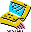 Notebook computer Vector Clipart image