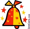 Christmas bell Vector Clip Art graphic