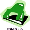 Hole punch Vector Clip Art picture
