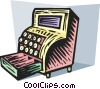 Cash Register Vector Clipart picture
