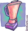 Vector Clipart picture  of a Mixers, Blenders, Food Processors