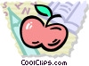 Vector Clipart image  of an Apples