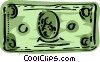 Dollar bill Vector Clip Art picture