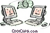 Vector Clipart image  of a Chat