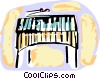 Vector Clipart illustration  of a Xylophones
