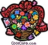 Vector Clipart graphic  of a Mother's Day