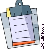 Clipboard Vector Clipart graphic