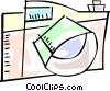 Digital camera Vector Clipart picture