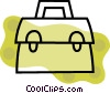 Colorful briefcase Vector Clip Art graphic