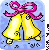 Wedding bells Vector Clipart picture