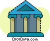 Bank symbol Vector Clipart picture